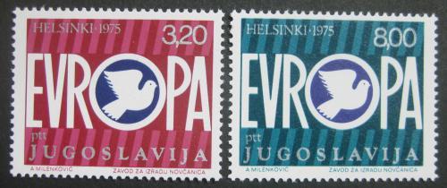 Poštovní známky Jugoslávie 1975 Konference bezpeènosti Mi# 1617-18