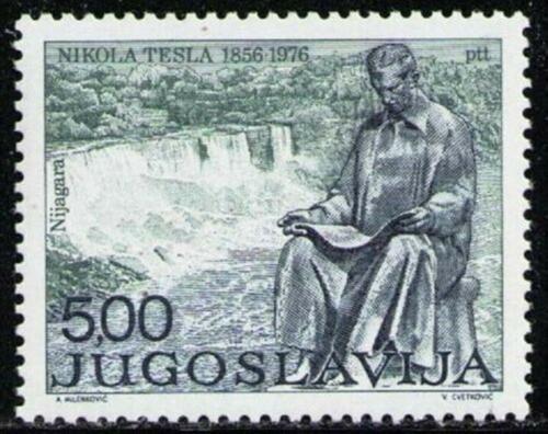 Poštovní známka Jugoslávie 1976 Nikola Tesla Mi# 1655