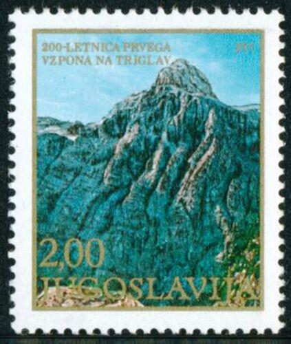 Poštovní známka Jugoslávie 1978 Triglav Mi# 1740