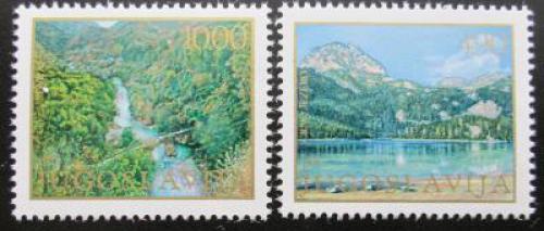 Poštovní známky Jugoslávie 1978 Ochrana pøírody Mi# 1741-42