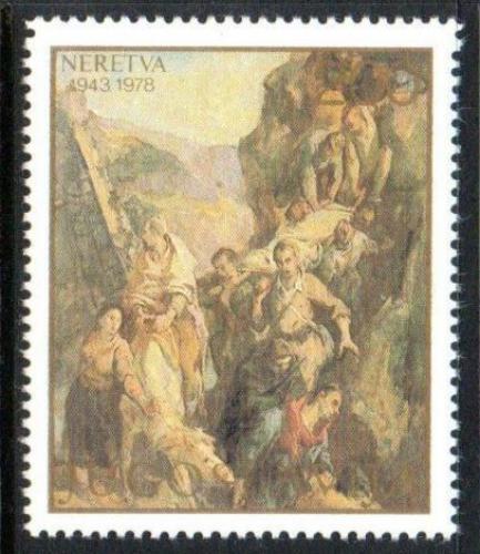 Poštovní známka Jugoslávie 1978 Umìní, Ismet Mujezinoviè Mi# 1754