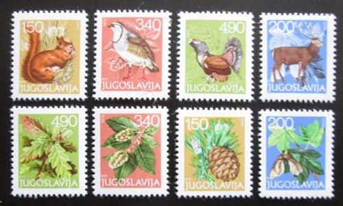 Poštovní známky Jugoslávie 1978 Fauna a flóra Mi# 1763-70