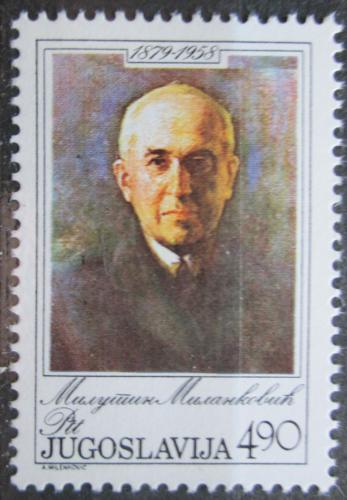 Poštovní známka Jugoslávie 1979 Milutin Milankoviè, matematik Mi# 1793