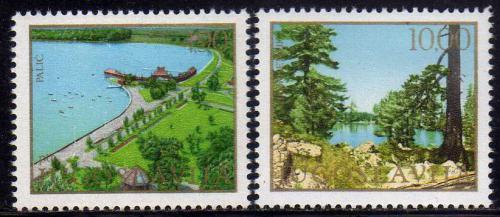 Poštovní známky Jugoslávie 1979 Ochrana pøírody Mi# 1800-01