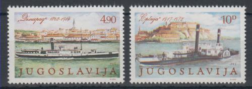 Poštovní známky Jugoslávie 1979 Lodì Mi# 1816-17
