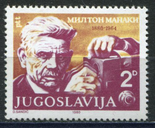 Poštovní známka Jugoslávie 1980 Milton Manaki, fotograf Mi# 1818