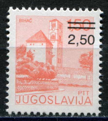 Poštovní známka Jugoslávie 1980 Bihaè pøetisk Mi# 1842