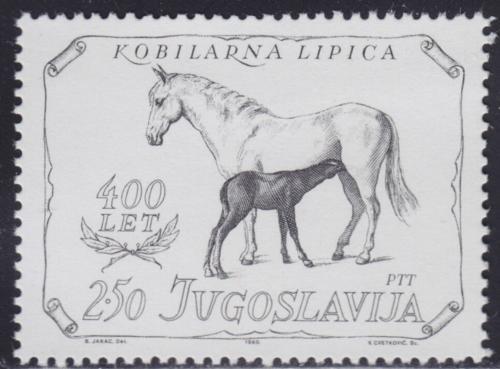 Poštovní známka Jugoslávie 1980 Konì Mi# 1844