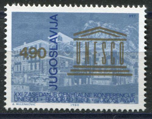 Poštovní známka Jugoslávie 1980 Konference UNESCO Mi# 1853