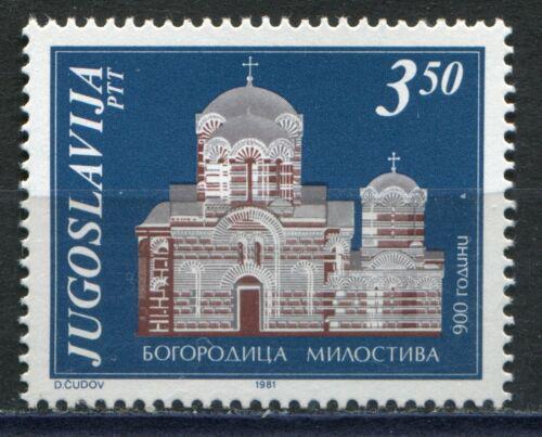 Poštovní známka Jugoslávie 1981 Klášter Bogorodica Milostiva Mi# 1877