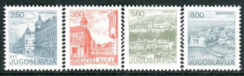 Poštovní známky Jugoslávie 1981 Mìsta Mi# 1878-81