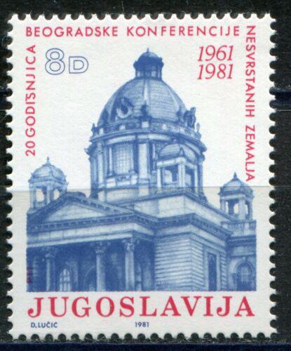 Poštovní známka Jugoslávie 1981 Parlament v Bìlehradì Mi# 1898