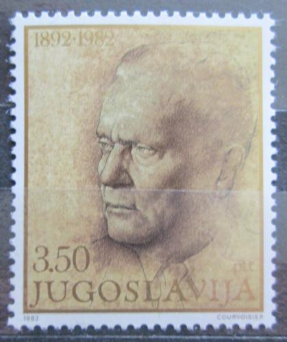 Poštovní známka Jugoslávie 1982 Prezident Tito Mi# 1929