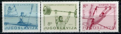 Poštovní známky Jugoslávie 1982 Sport Mi# 1935-37