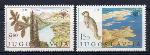 Poštovní známky Jugoslávie 1982 Ochrana pøírody Mi# 1943-44