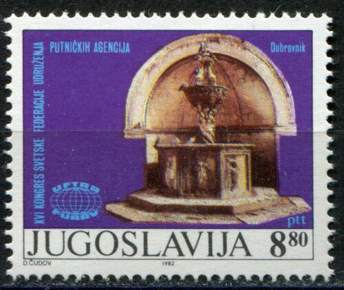 Poštovní známka Jugoslávie 1982 Fontána Onofrius v Dubrovníku Mi# 1948