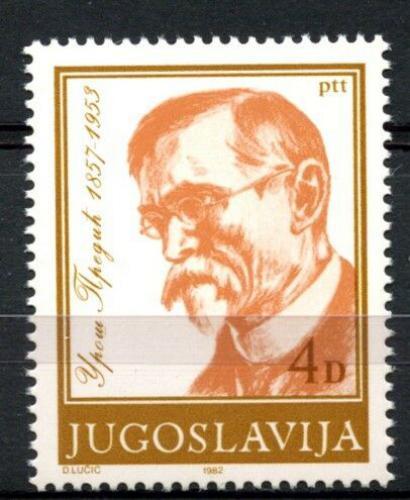 Poštovní známka Jugoslávie 1982 Uroš Prediè, malíø Mi# 1962