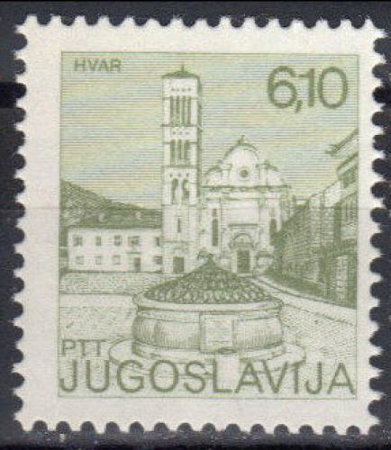 Poštovní známka Jugoslávie 1982 Hvar Mi# 1964
