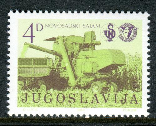 Poštovní známka Jugoslávie 1983 Zemìdìlský veletrh Mi# 1986