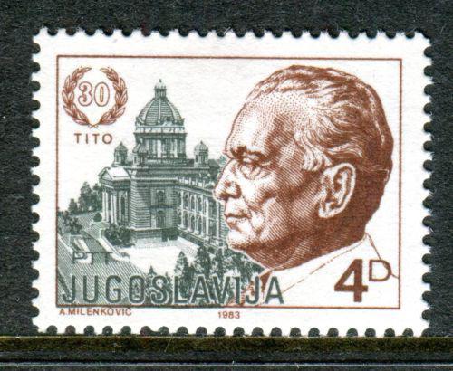 Poštovní známka Jugoslávie 1983 Prezident Tito Mi# 1988