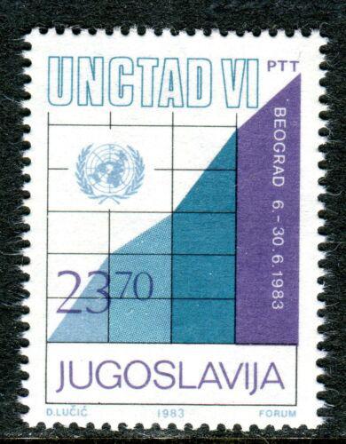 Poštovní známka Jugoslávie 1983 Konference OSN Mi# 1993