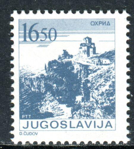 Poštovní známka Jugoslávie 1983 Kostel v Ohridu Mi# 1995