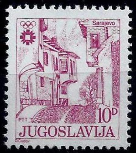 Poštovní známka Jugoslávie 1983 Stará tržnice v Sarajevu Mi# 1999