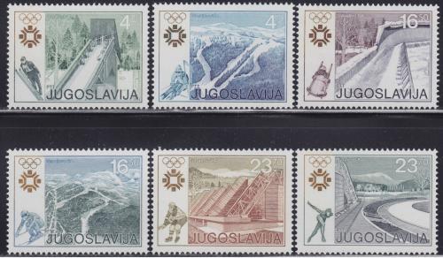 Poštovní známky Jugoslávie 1983 ZOH Sarajevo Mi# 2007-12