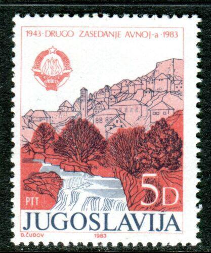Poštovní známka Jugoslávie 1983 Jajce Mi# 2019