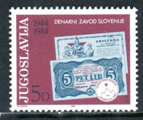 Poštovní známka Jugoslávie 1984 Slovinská bankovní instituce, 40. výroèí Mi# 2043