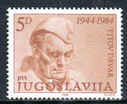 Poštovní známka Jugoslávie 1984 Prezident Tito Mi# 2052
