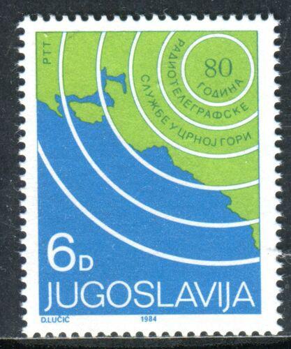 Poštovní známka Jugoslávie 1984 Mapa Mi# 2070
