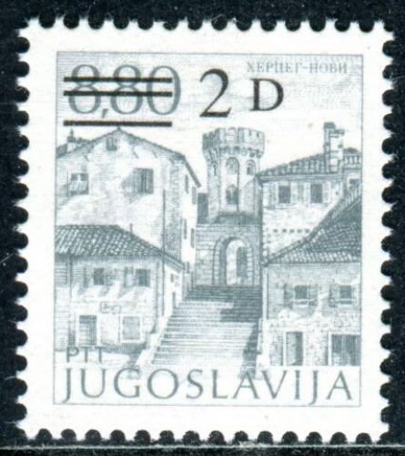 Poštovní známka Jugoslávie 1984 Herceg Novi pøetisk Mi# 2090