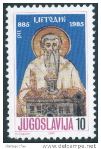 Poštovní známka Jugoslávie 1985 Metodìj Mi# 2102