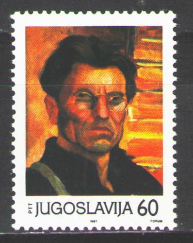 Poštovní známka Jugoslávie 1987 Prezident Tito Mi# 2225