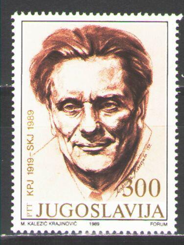 Poštovní známka Jugoslávie 1989 Prezident Tito Mi# 2343