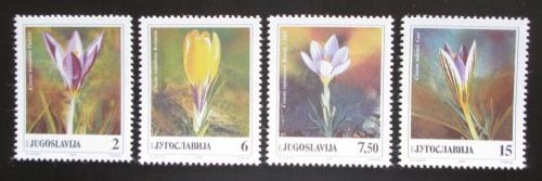 Poštovní známky Jugoslávie 1991 Šafrán Mi# 2467-70