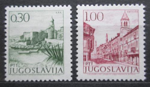 Poštovní známky Jugoslávie 1971 Mìsta Mi# 1427,1430 zx