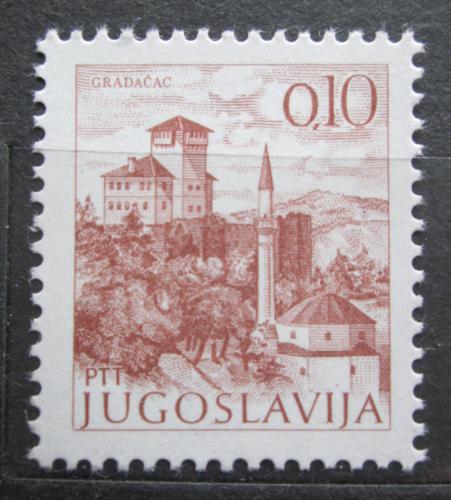 Poštovní známka Jugoslávie 1972 Gradaèac Mi# 1465 I Axa