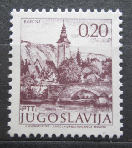 Poštovní známka Jugoslávie 1972 Obèina Bohinj Mi# 1493