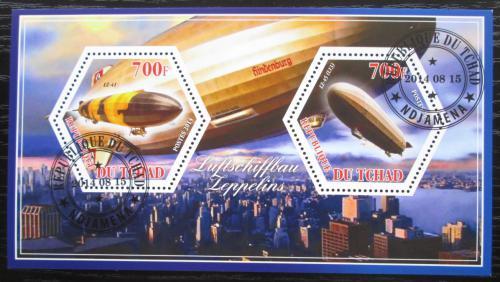 Poštovní známky Èad 2014 Vzducholodì Mi# N/N