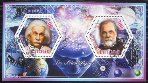 Poštovní známky Èad 2014 Albert Einstein a Louis Pasteur Mi# N/N