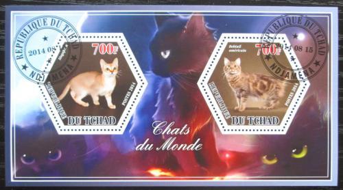 Poštovní známky Èad 2014 Koèky Mi# N/N