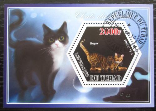 Poštovní známka Èad 2014 Koèky Mi# N/N