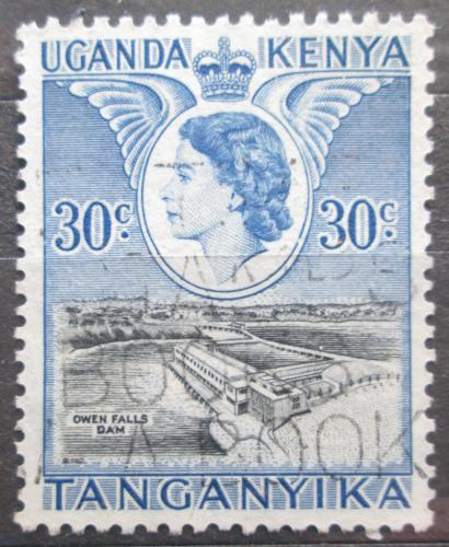 Poštovní známka K-U-T 1954 Pøehrada u vodopádu Owen Mi# 96