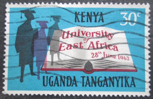 Poštovní známka K-U-T 1963 Založení Východoafrické univerzity Mi# 128