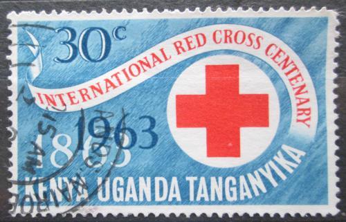 Poštovní známka K-U-T 1963 Mezinárodní èervený køíž, 100. výroèí Mi# 130