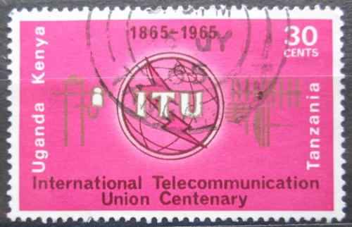 Poštovní známka K-U-T 1965 ITU, 100. výroèí Mi# 140