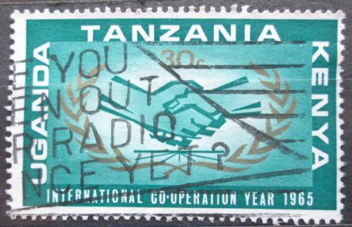 Poštovní známka K-U-T 1965 Rok mezinárodní spolupráce Mi# 144