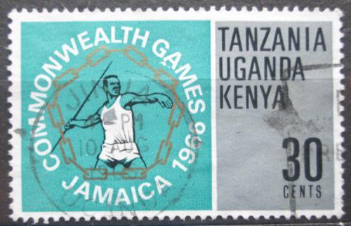 Poštovní známka K-U-T 1966 Hod oštìpem Mi# 152